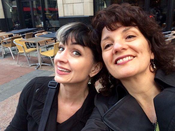 rebecca and carla selfie