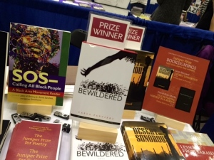 My book among 1000's at this year's AWP conference.